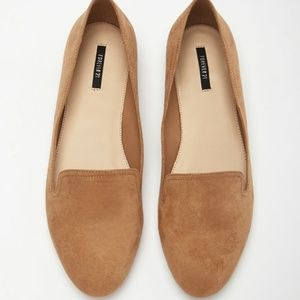 Forever 21 // Brown Faux Suede Loafers // 9